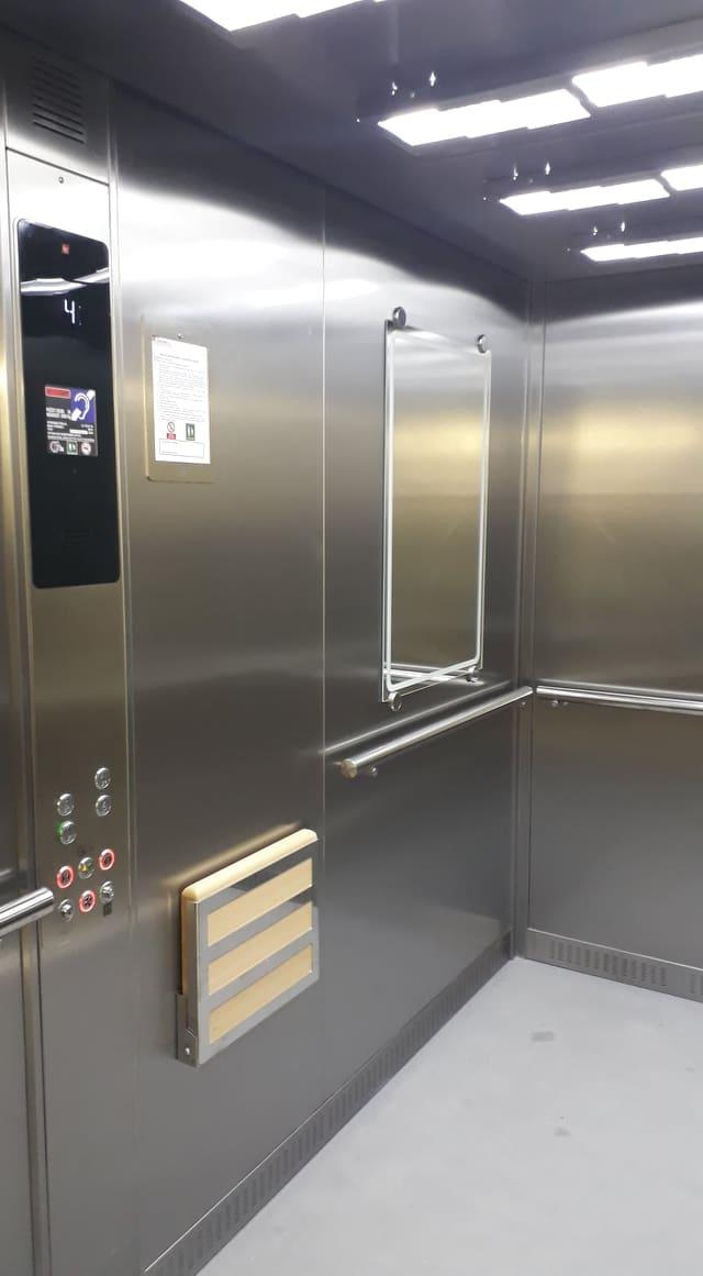 Lůžkový výtah Nemocnice Letovice
